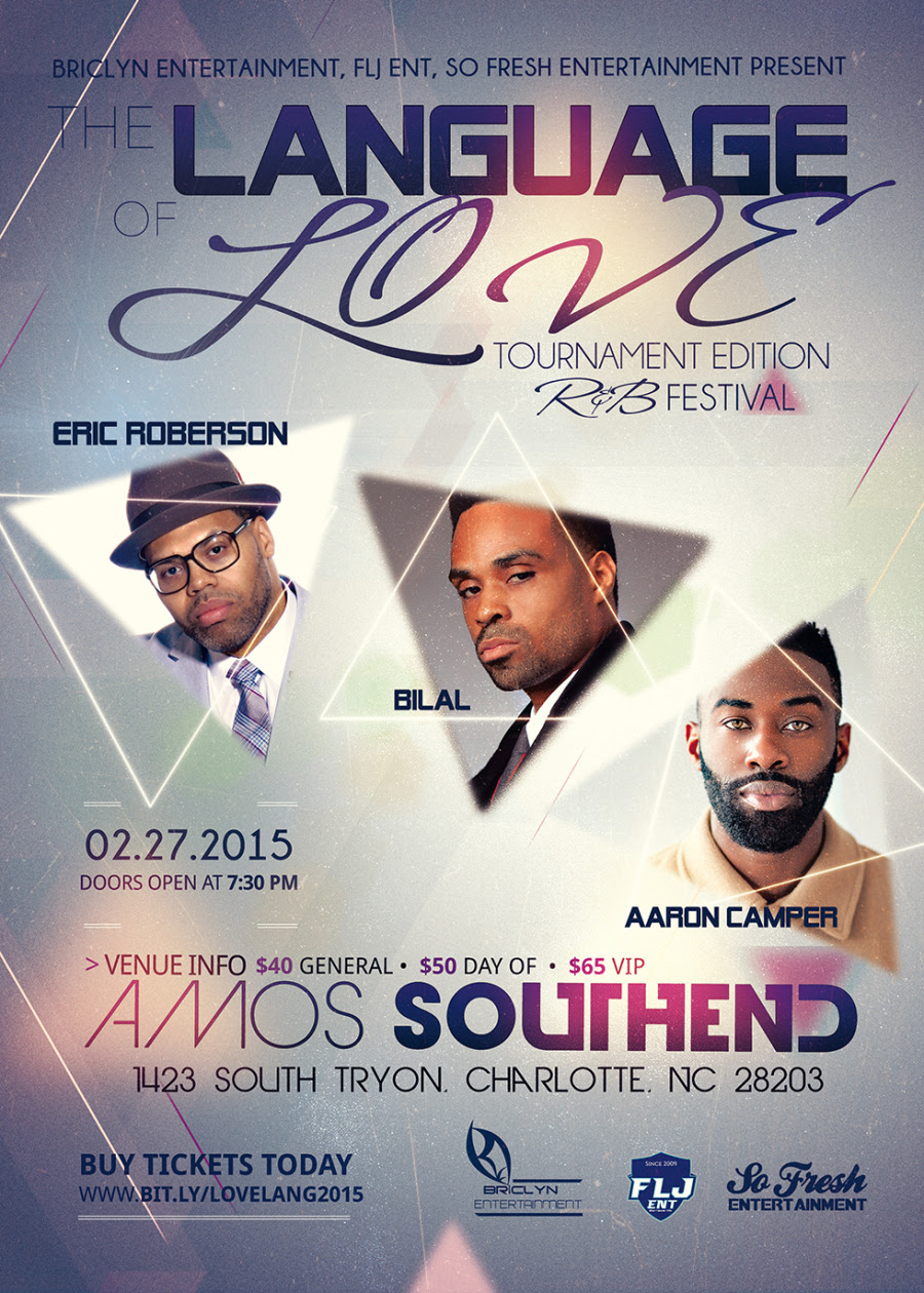 Attention Ladies | The Language of Love Concert Series Feat. Eric Roberson, Bilal, and Aaron Camper