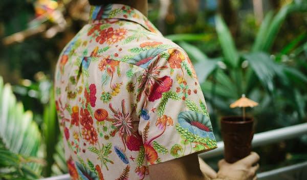 Tan Haeckeloha Shirt