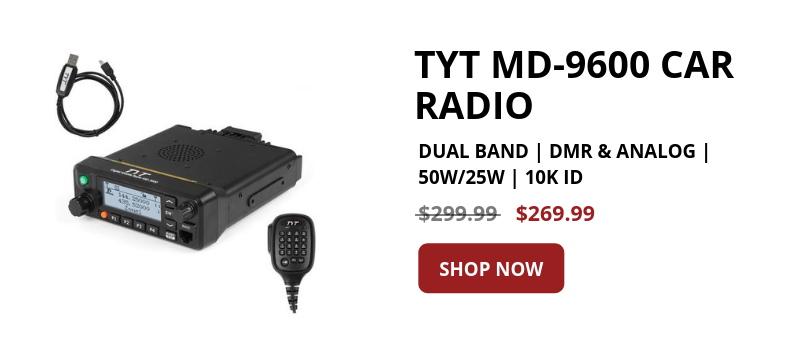 Shop TYT MD-9600 CAR RADIO