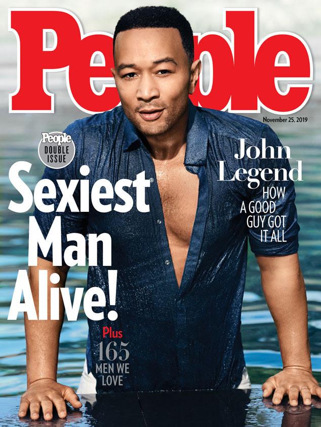 John Legend, élu l'homme le plus sexy de la planète en 2019 (photos)