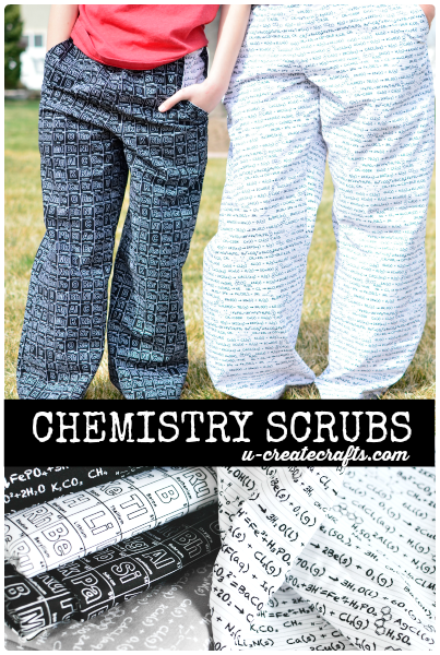 Chemistry-scrubs-at-u-createcrafts.com
