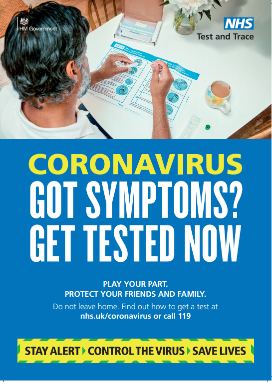 get tested poster