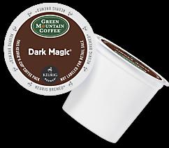 Green Mountain Dark Magic Keurig Kcup coffee