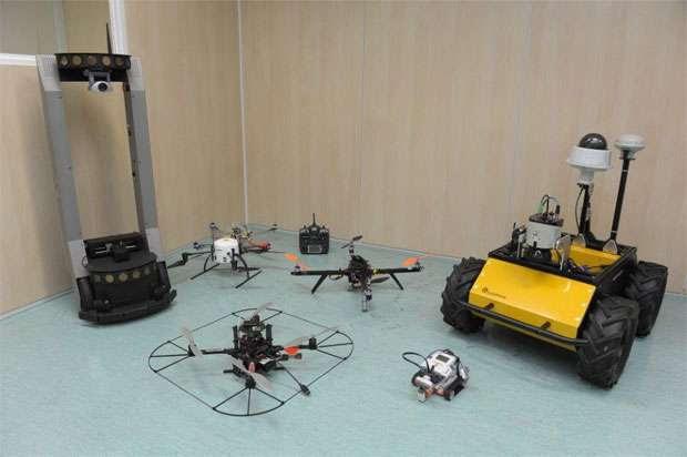 Protótipos criados na FEI: equipamentos dotados de esperteza  (Ilton Barbosa/divulgação )