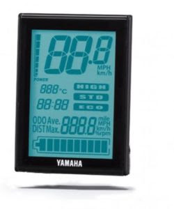 display yamaha ebike