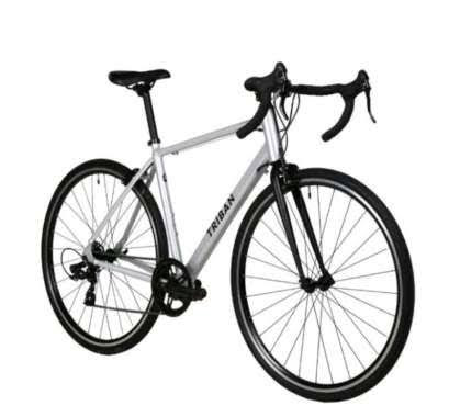 TRIBAN RC 100 ABYSS Sepeda Balap Roadbike size L (White)