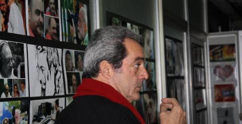 George Yioukakis, vicepresidente del sindicato de periodistas de Atenas y trabajador de ERT desde 1987. - SARA SERRANO