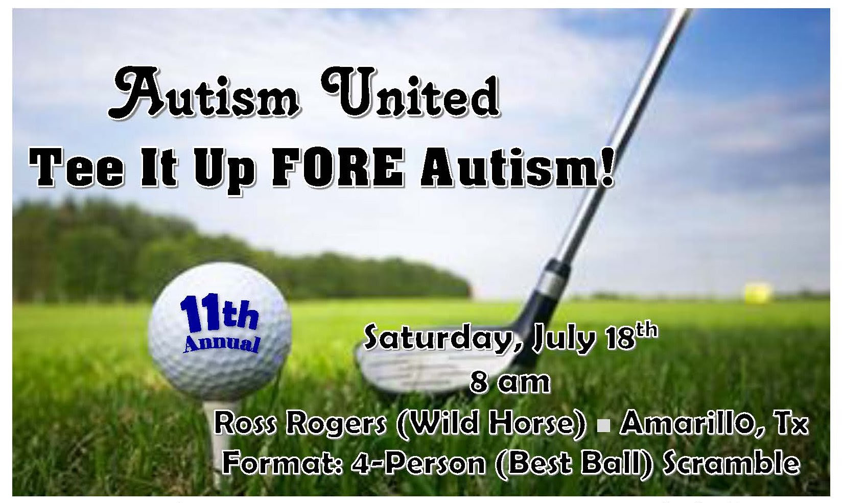 Tee It Up FORE Autism! @ Ross Rogers Golf Course