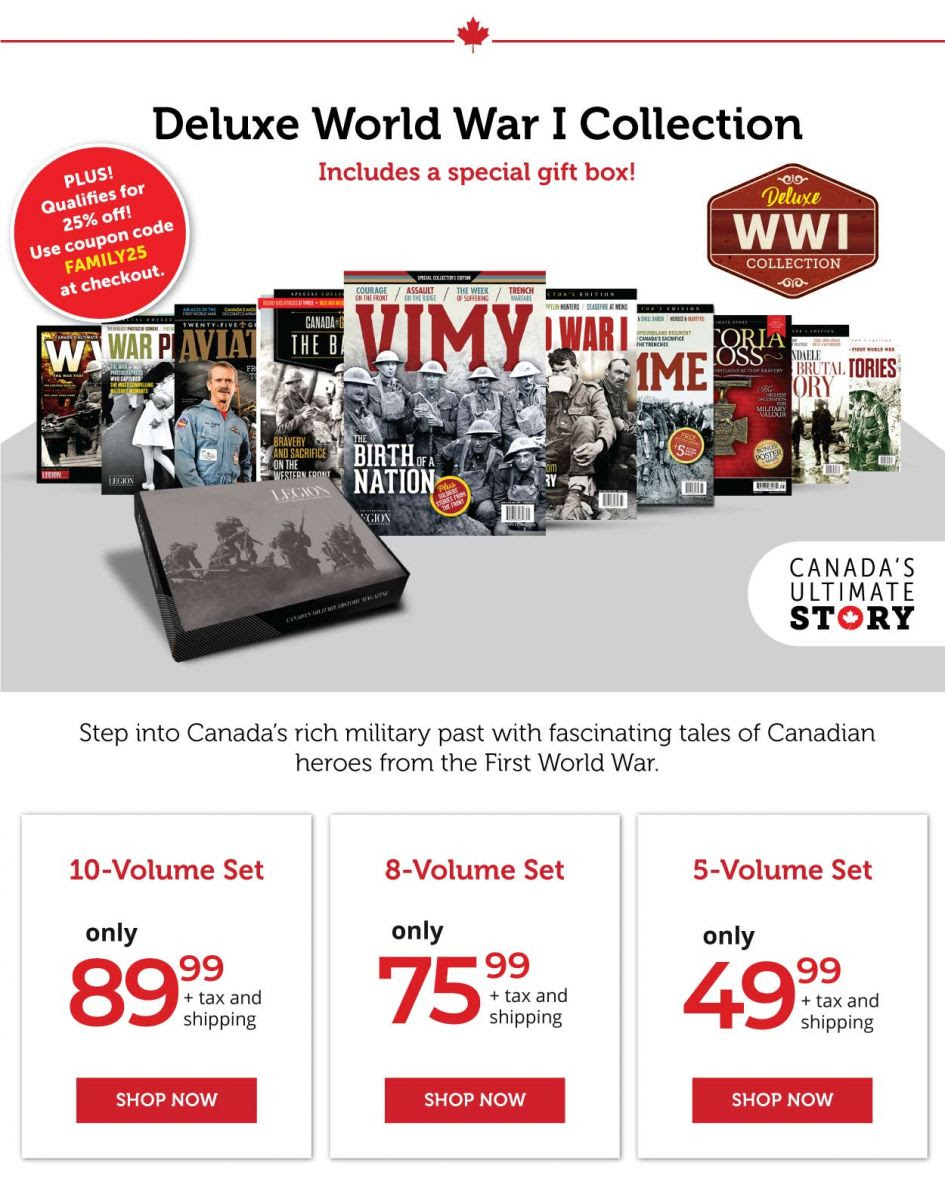 Deluxe WWI Collection