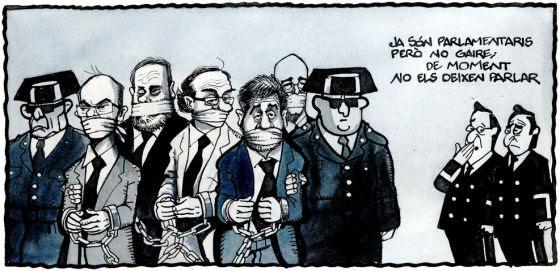 Ferreres PRESONERS POLÍTICS AL CONGRÉS 20.5.19