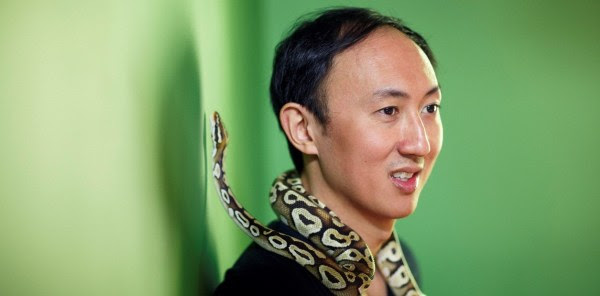 David Hu, científico estudioso de la moviliad animal. Foto El Clarin
