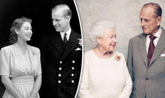 Image result for Philip Mountbatten and queen of england