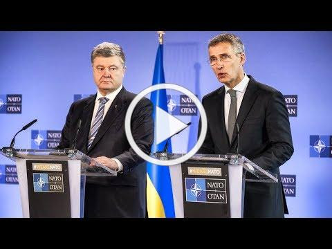 To view the press conference with President Poroshenko and NATO Secretary Stoltenberg, please click on image above