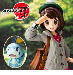 Pokemon ArtFX J Gloria with Sobble Statue