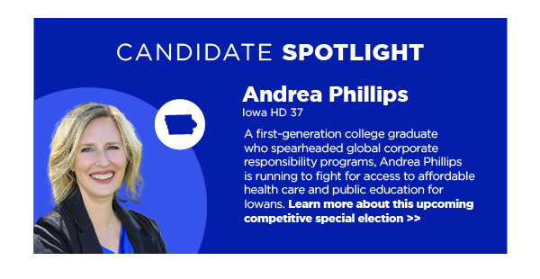 Candidate Spotlight: Andrea Phillips – IA HD 37
