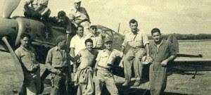 Группа американских летчиков в Израиле