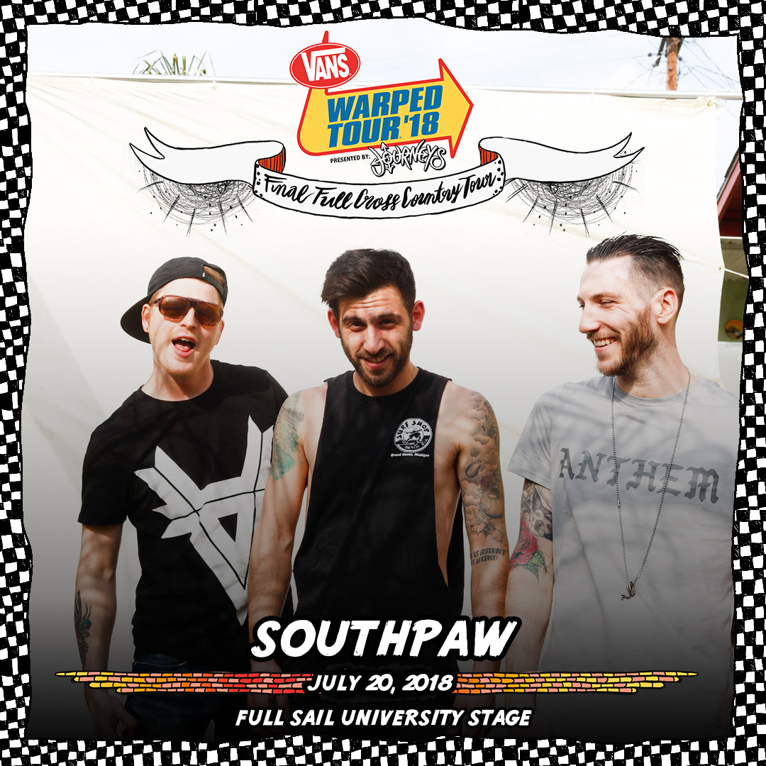 southpaw warped