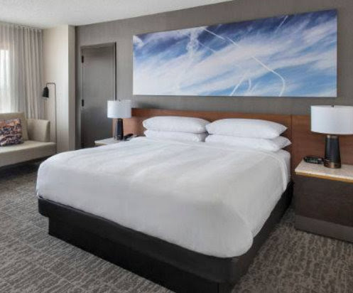 Photos! Really, You Won't Believe How Marriott Hotels Is Normalizing Chemtrails.