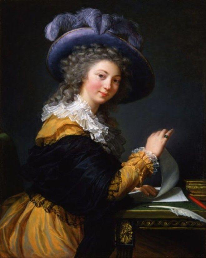 Портрет дамы с письмом
