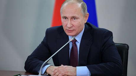 El presidente de Rusia, Vladímir Putin, el 8 de diciembre de 2017.