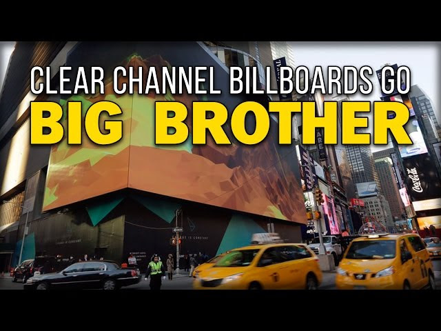 CLEAR CHANNEL BILLBOARDS GO BIG BROTHER  Sddefault
