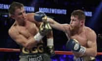 Canelo-Golovkin rematch in doubt as Mexican faces ban