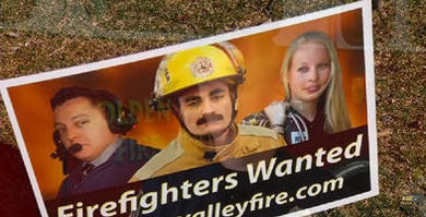 Golden Valley seeks fire fighters
