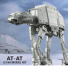 Star Wars 1/144 Scale Model Kit - AT-AT