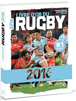 Couverture : Livre d'or du rugby 2016