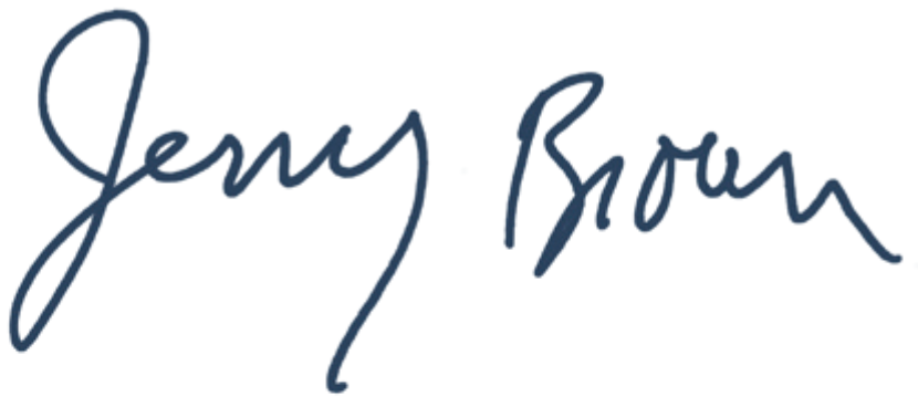 Governor Jerry Brown Signature
