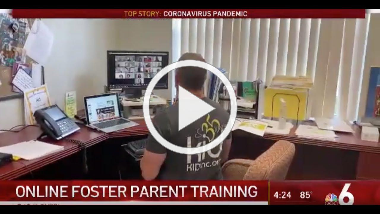 Child welfare agency first in the nation to train foster parents online amid coronavirus crisis