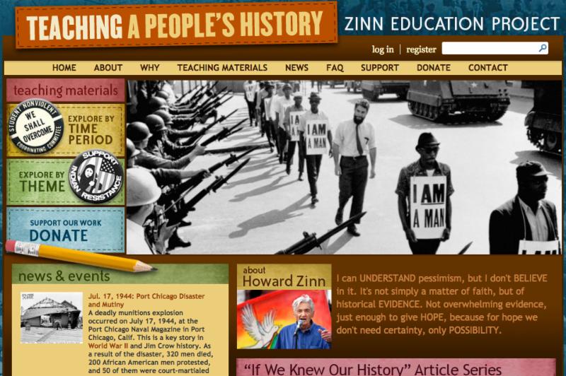Zinn Ed Project