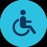 Información para votantes con discapacidades.