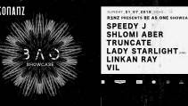 Rezonanz presents BE AS ONE showcase with Speedy J, Shlomi Aber, Truncate, Lady Starlight live, Linkan Ray y Vil