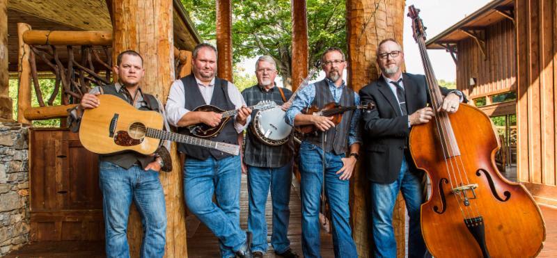 Balsam Range with Instruments L to R Caleb Smith, Darren Nicholson, Marc Pruett, Buddy Melton, Tim Surrett Credit David Simchock