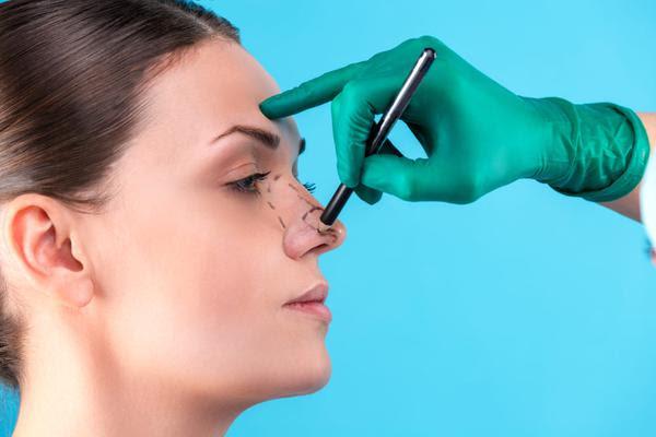 Rinoplastia x uso de máscara