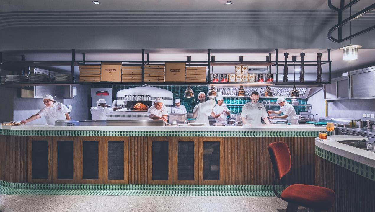 JA Motorino Kitchen