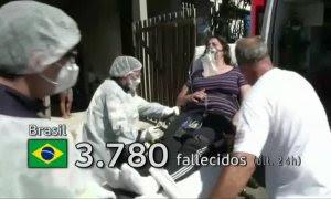 Brasil vuelve a batir un nuevo récord con más 3.700 muertos por covid