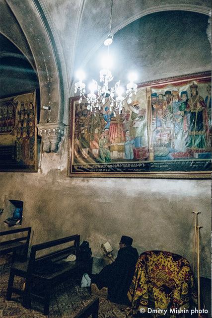 upper chapel - DEIR as-SULTAN