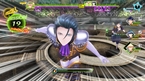 In Tokyo Mirage Sessions #FE, battle through dungeons to pump up your strategy and creatively destro ...