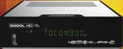 TOCOMSAT GOOOL HD PLUS - TOCOMBOX GOOOL HD+ (PLUS) NOVA ATUALIZAÇÃOV2.046 -13/09/2017