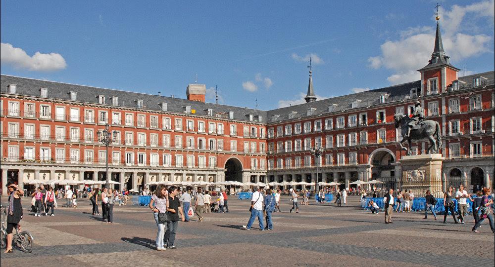Plaza Mayor de Madrid, España
