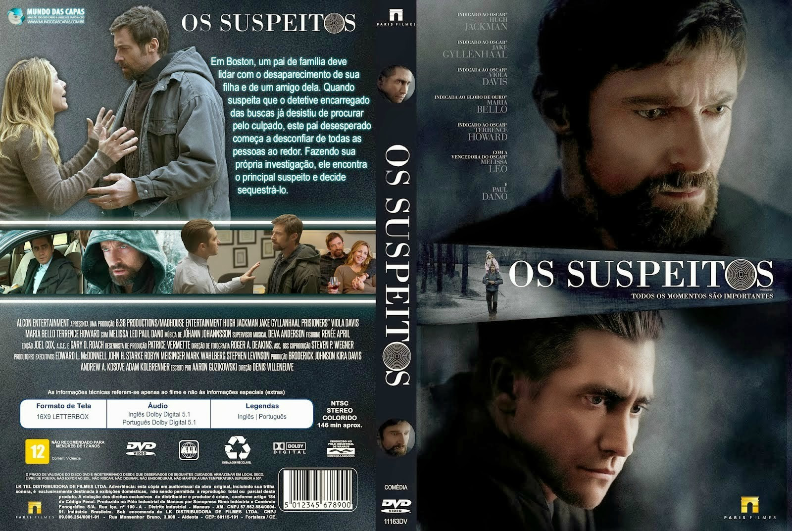 TvnpDC2 Os Suspeitos Torrent   BDRip Dual Áudio (2014)