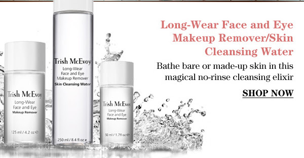 Trish McEvoy's Long-Wear Face and Eye Makeup Remover/Skin Cleasing Water