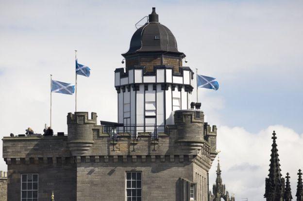 스코틀랜드 에딘버러성 바로 근처의 카메라 옵스큐라.AFP 자료사진