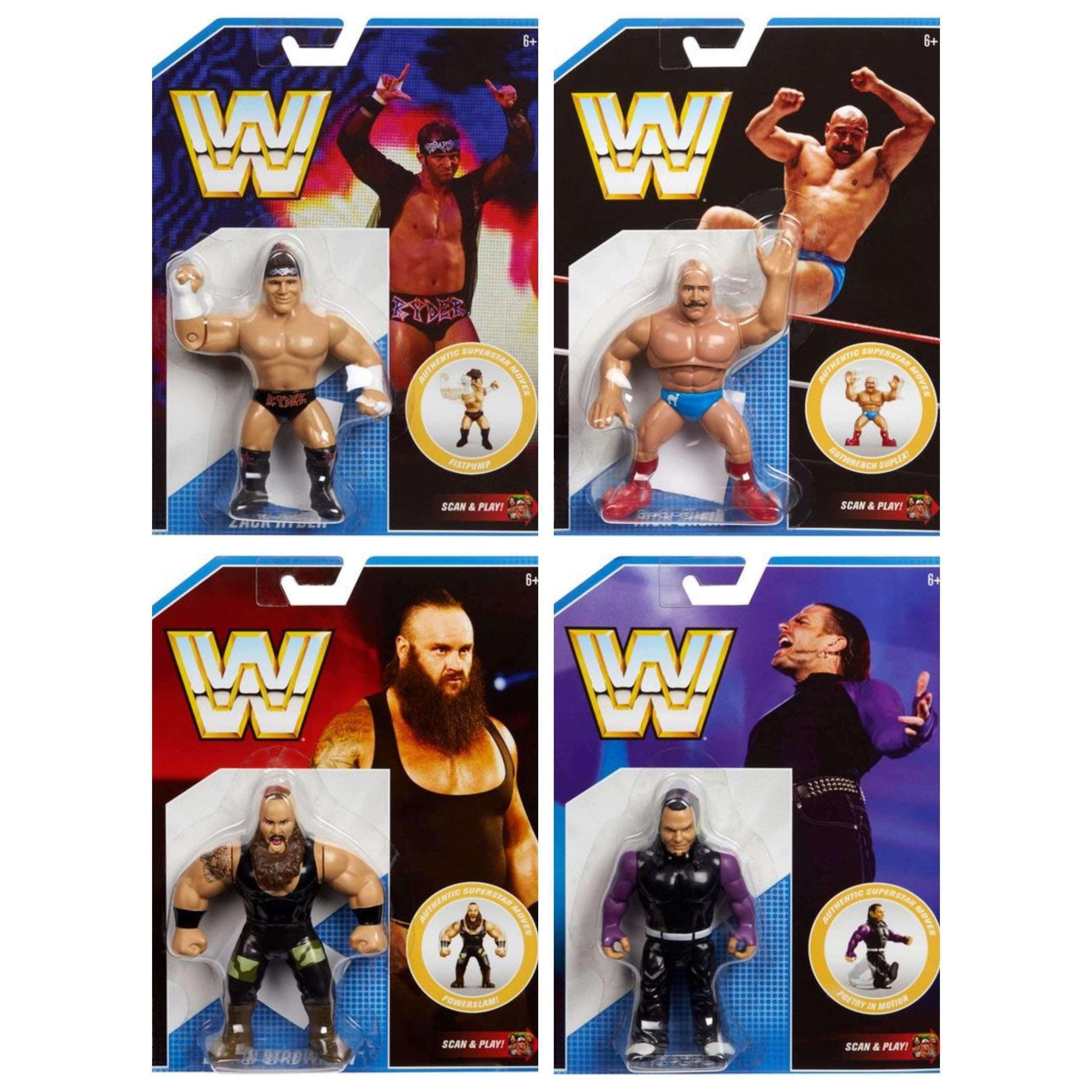 Image of WWE Retro Series 8 - Set of 4