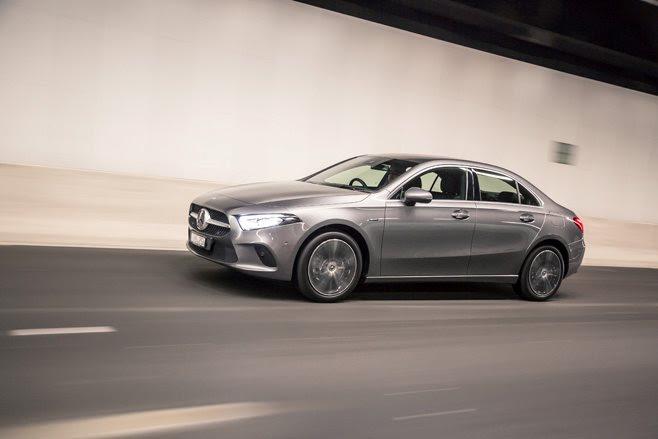Mercedes-Benz A250e sedan
