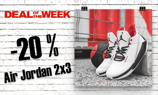 DOW: Air Jordan 2x3