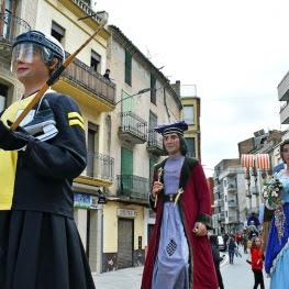 Feria de Ramos y Encuentro de Gigantes en Súria