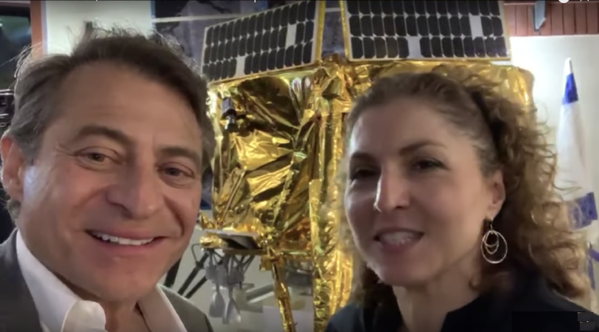 Peter Diamandis and Anousheh Ansari Announcement